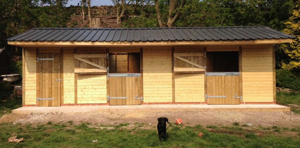 Finished stables Salterford, Lancashire